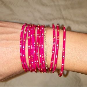Jewelry - SET OF 11 BANGLES FROM INDIA